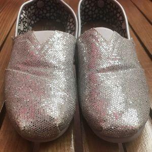 Silver Sparkle TOMS